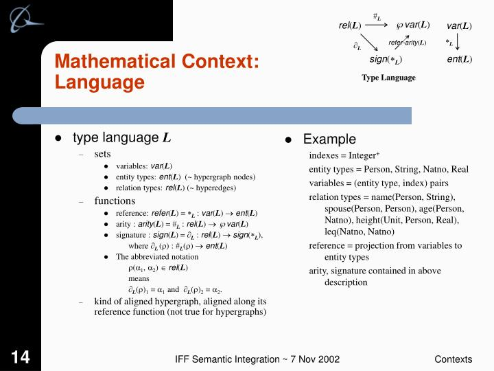 type language