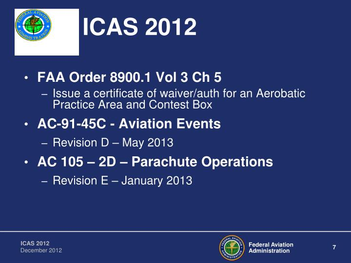 ICAS 2012
