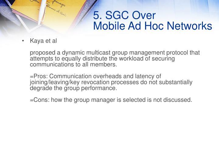 5. SGC Over