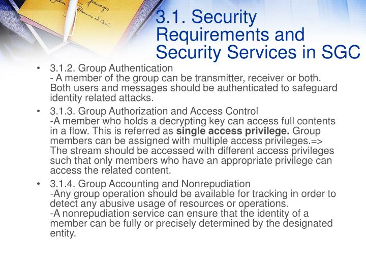 3.1.2. Group Authentication