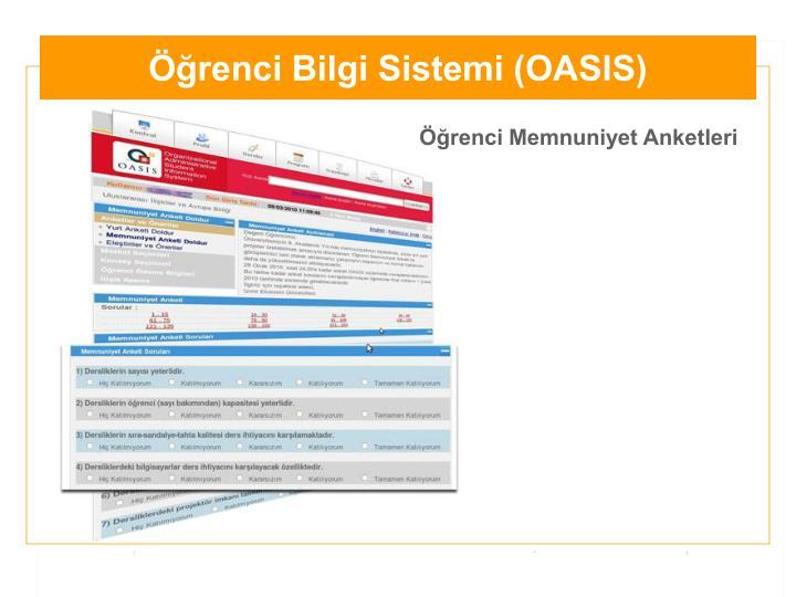 Öğrenci Bilgi Sistemi (OASIS)