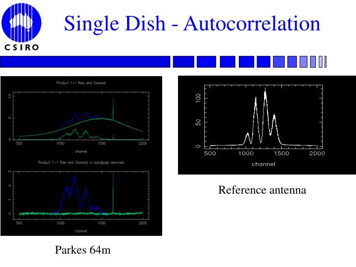 Single Dish - Autocorrelation