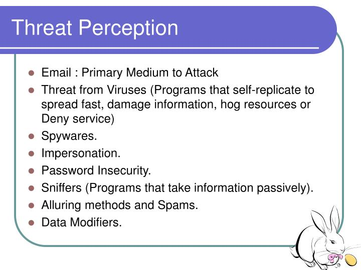Threat Perception