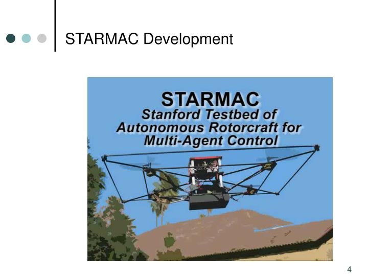 STARMAC Development