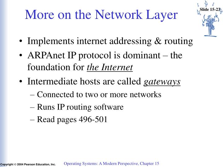 More on the Network Layer