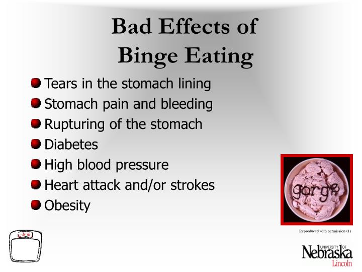 Bad Effects of