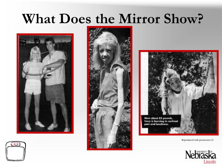 What Does the Mirror Show?