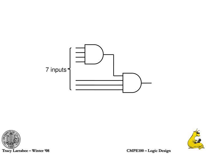 7 inputs