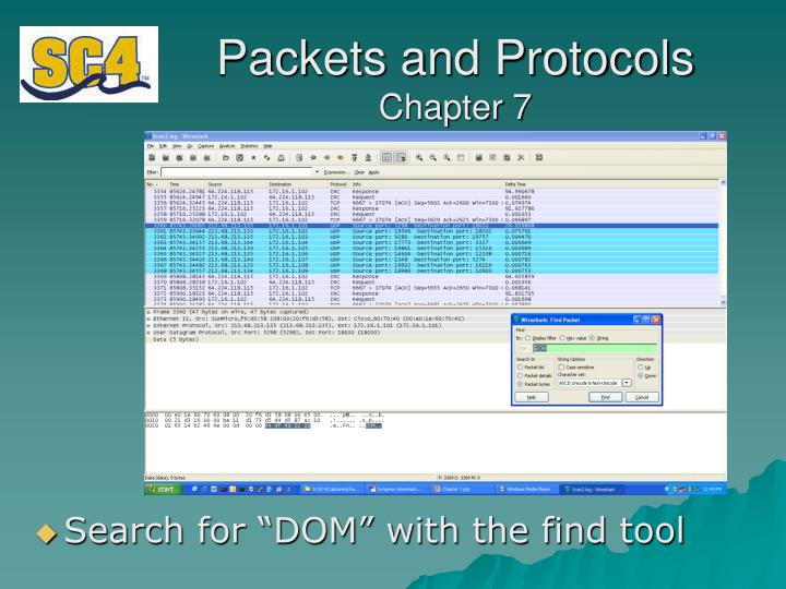 Packets and Protocols