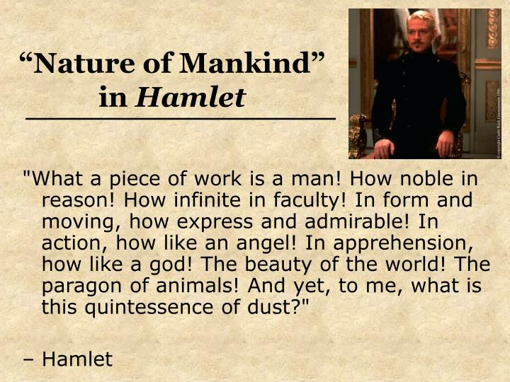 """Nature of Mankind"" in"