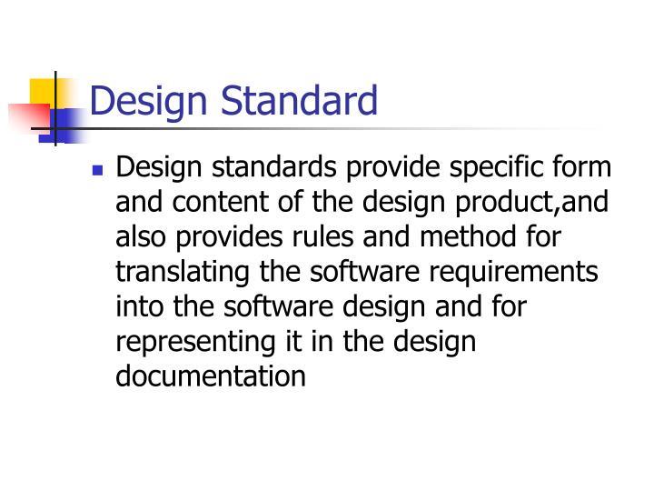 Design Standard