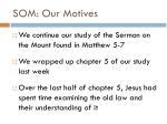 som our motives