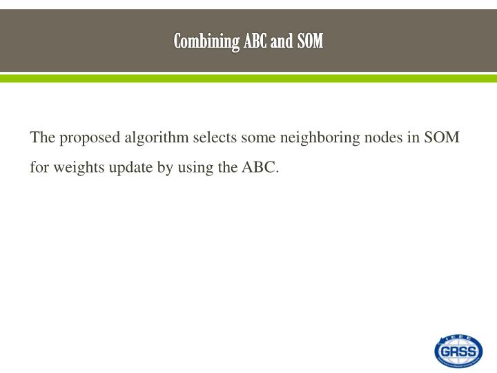 Combining ABC and SOM