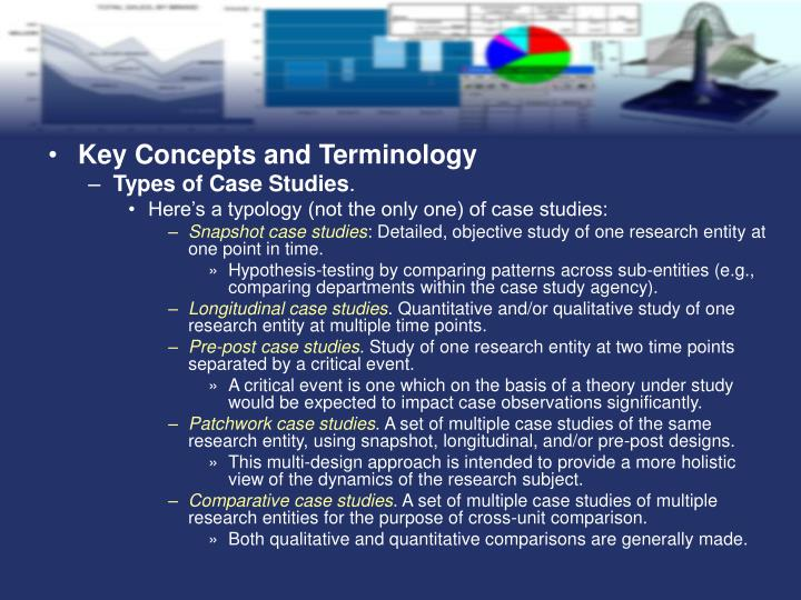 Key Concepts and Terminology