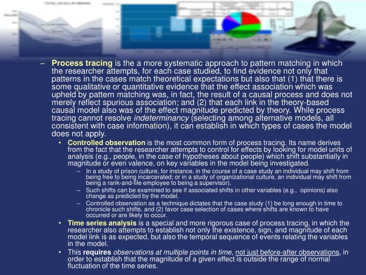 Process tracing