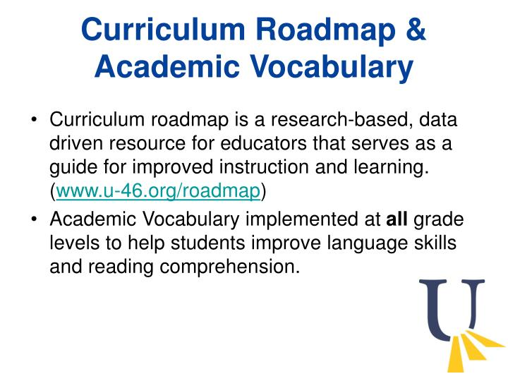 Curriculum Roadmap &