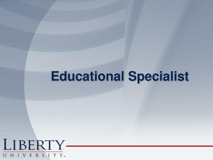 Educational Specialist
