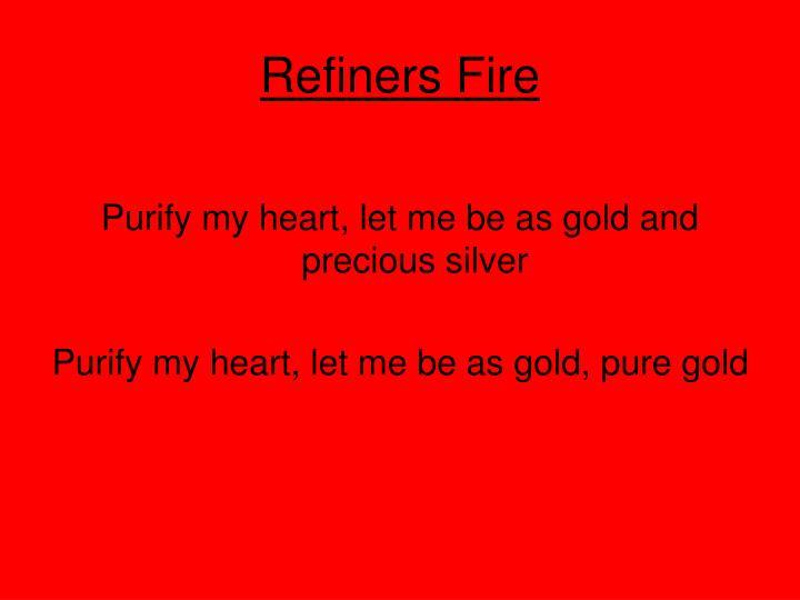 Refiners Fire