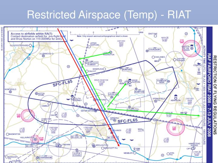 Restricted Airspace (Temp) - RIAT