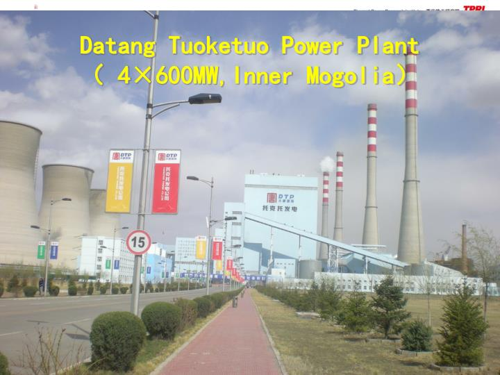 Datang Tuoketuo Power Plant