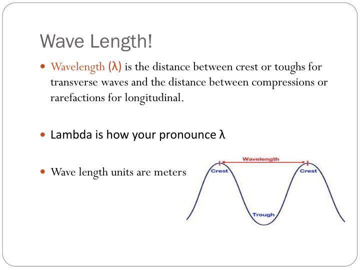 Wave Length!