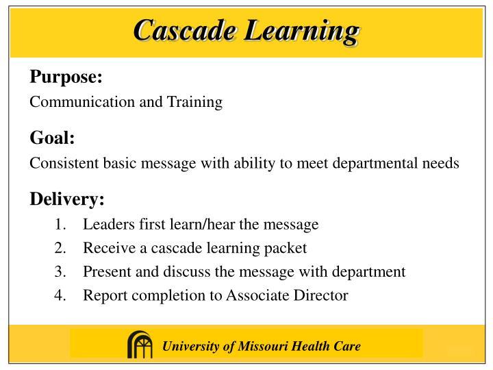 Cascade Learning