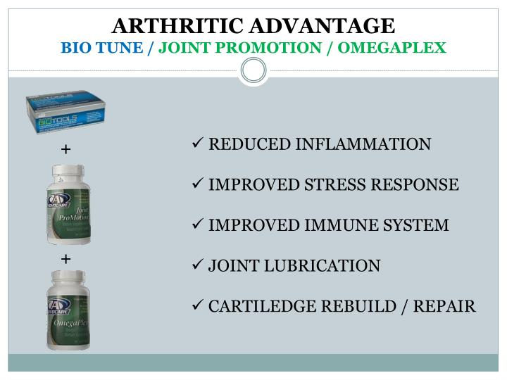 ARTHRITIC ADVANTAGE