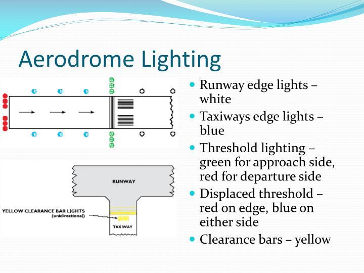 Aerodrome Lighting