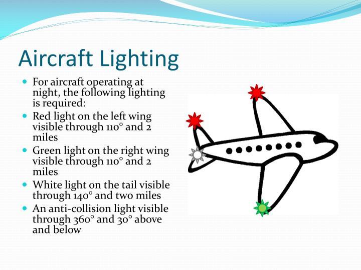 Aircraft Lighting