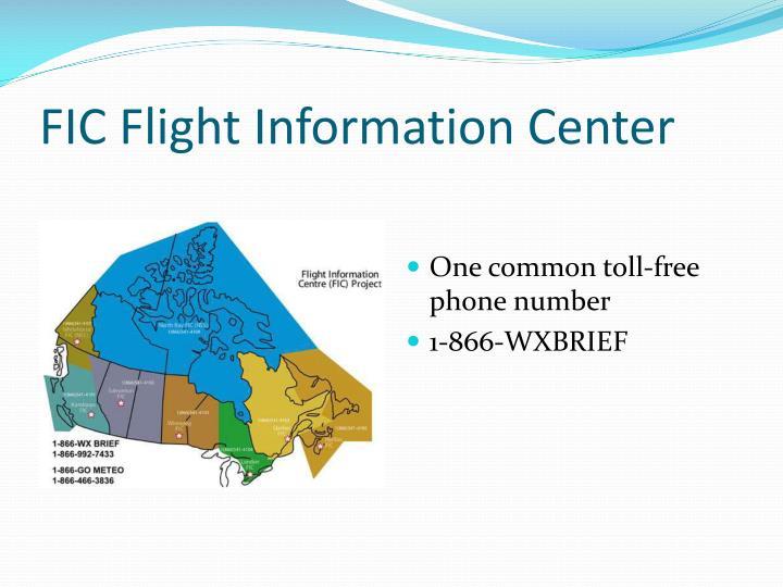 FIC Flight Information Center