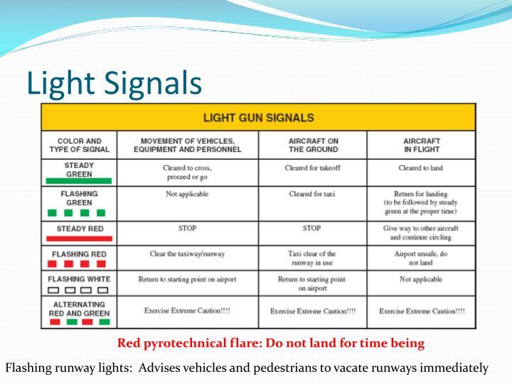 Light Signals