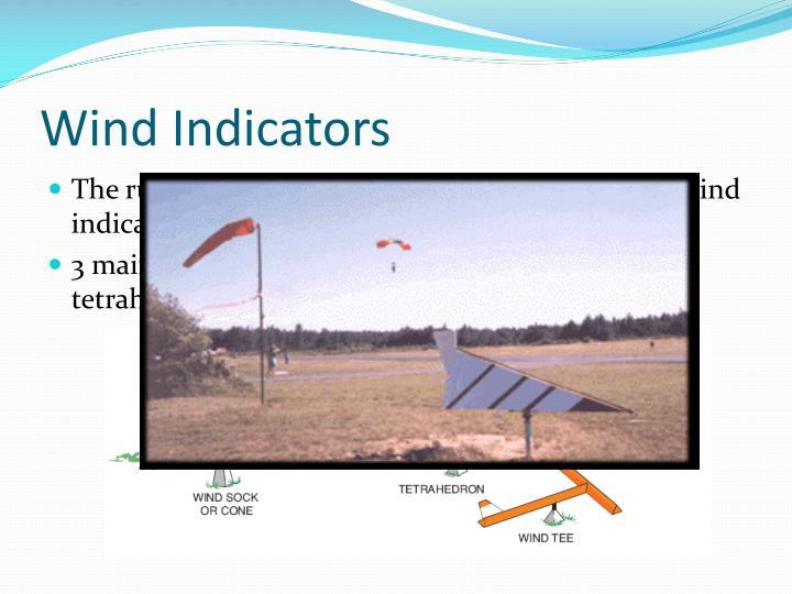 Wind Indicators