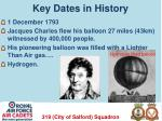 key dates in history2
