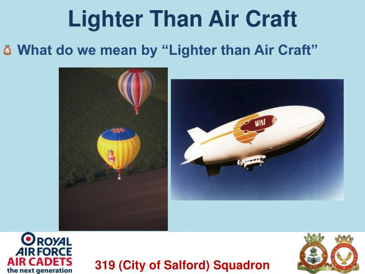 Lighter than air craft