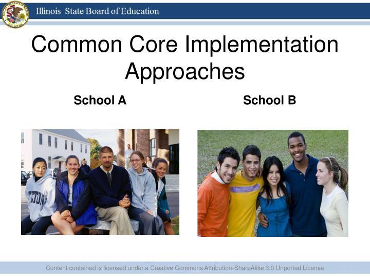 Common Core Implementation Approaches