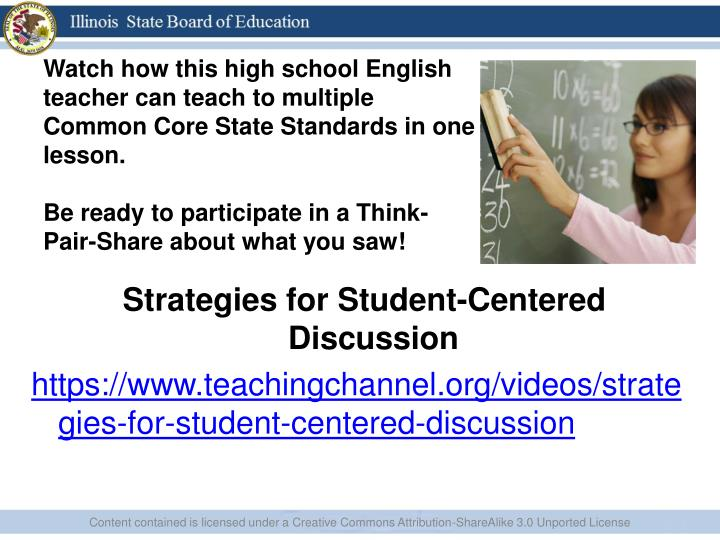 Watch how this high school English teacher can teach to multiple Common Core State Standards in one lesson.