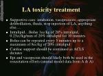 la toxicity treatment