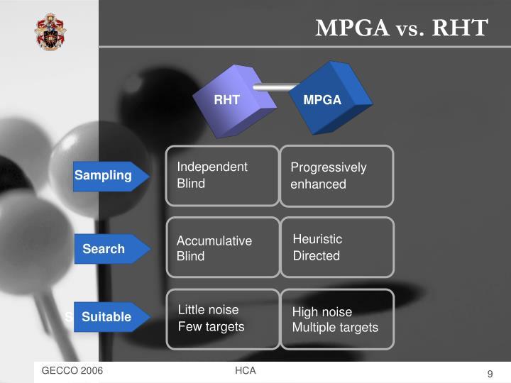 MPGA vs. RHT