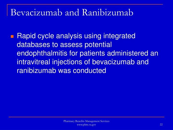 Bevacizumab and Ranibizumab