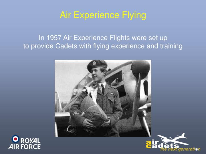 Air Experience Flying