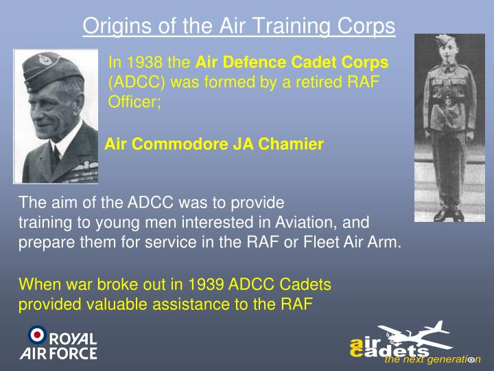Origins of the Air Training Corps