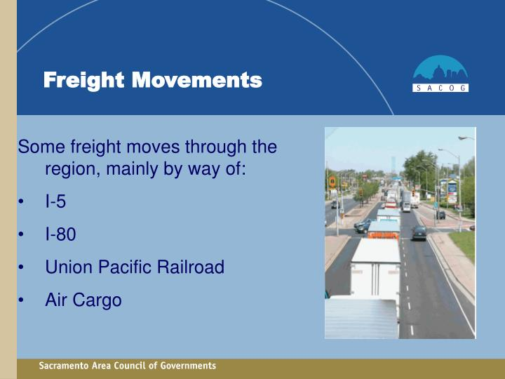 Freight Movements