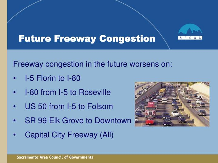 Future Freeway Congestion