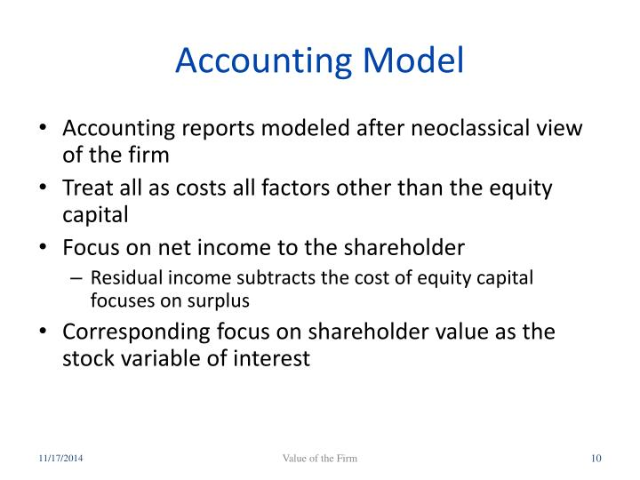 Accounting Model