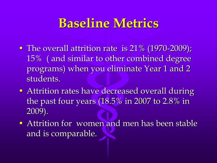Baseline Metrics
