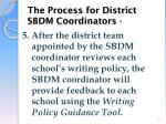 the process for district sbdm coordinators2