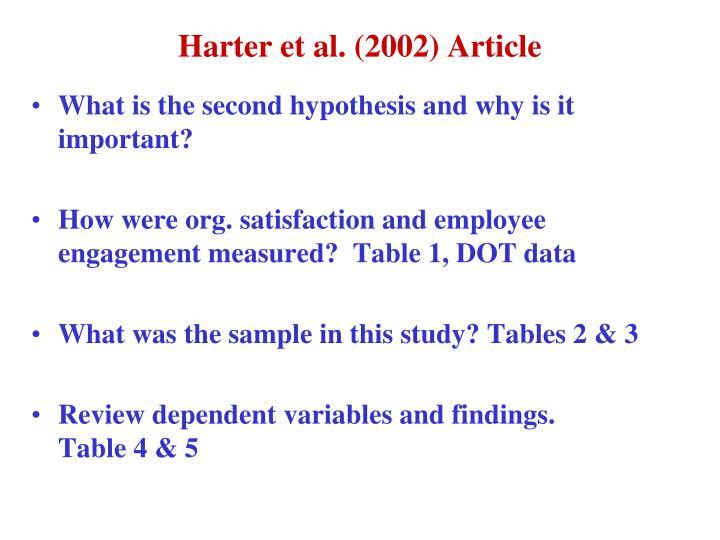 Harter et al. (2002) Article
