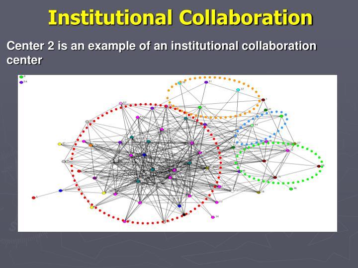 Institutional Collaboration