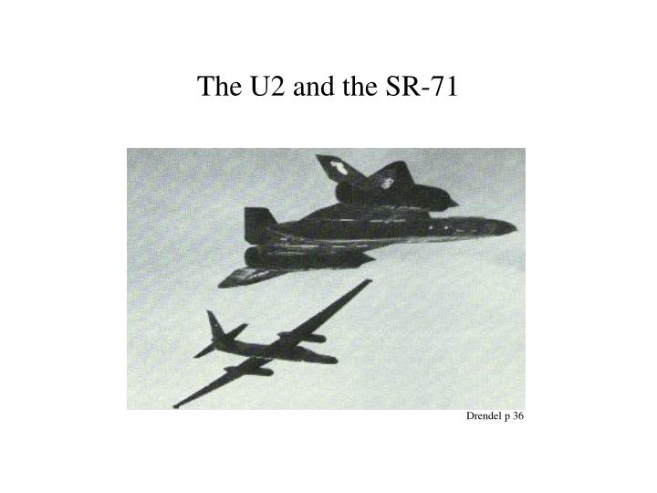 The U2 and the SR-71