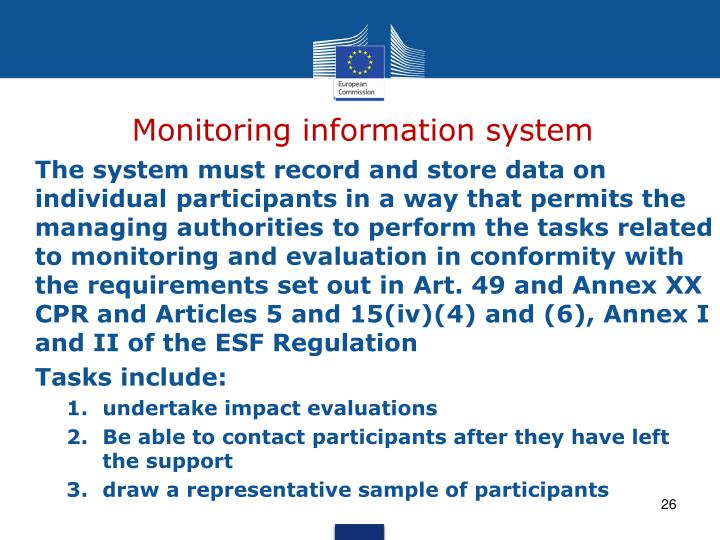 Monitoring information system